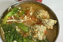 #中秋宴,名厨味#番茄鸡肉丸子汤的做法