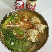 #中秋宴,名厨味#番茄鸡肉丸子汤