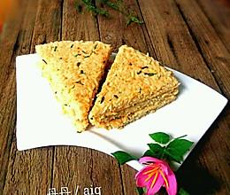 鸡蛋米饭饼#剩米饭的华丽变身的做法