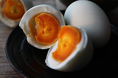 简单环保咸鸭蛋