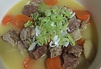 羊肉炖胡萝卜的做法