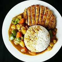 日式咖喱猪排饭