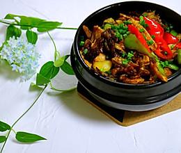 #中餐厅#砂锅三文鱼头的做法