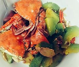南瓜炖海蟹的做法
