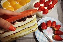 多层鲜奶油蛋糕的做法