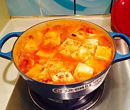 米饭的绝配—泡菜豆腐锅(铸铁锅版)的做法