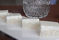 清甜软滑,好吃不腻的甜点——椰汁西米糕的做法