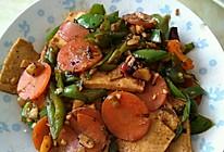 炒千页豆腐的做法