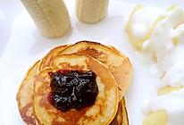 健康餐之六/减肥餐之六玉米奶香饼的做法