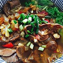 番茄牛肉青菜面