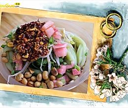 凉拌绿豆粉[黔菜]的做法