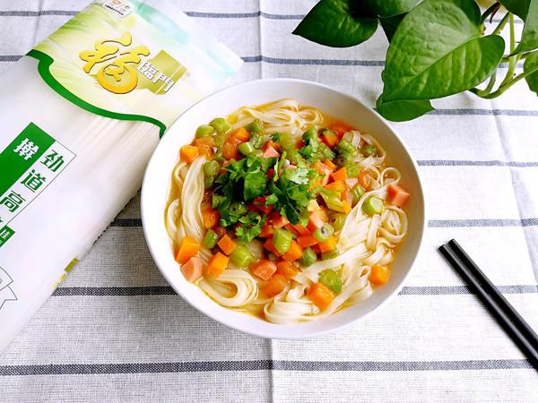 炝锅汤面条的做法