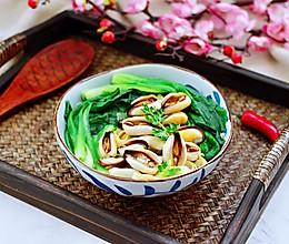 #钟于经典传统味#上汤豆皮青口小白菜的做法