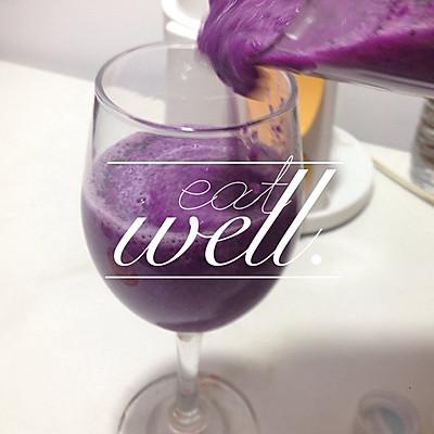 紫甘蓝火龙果汁 Juice cleanse3
