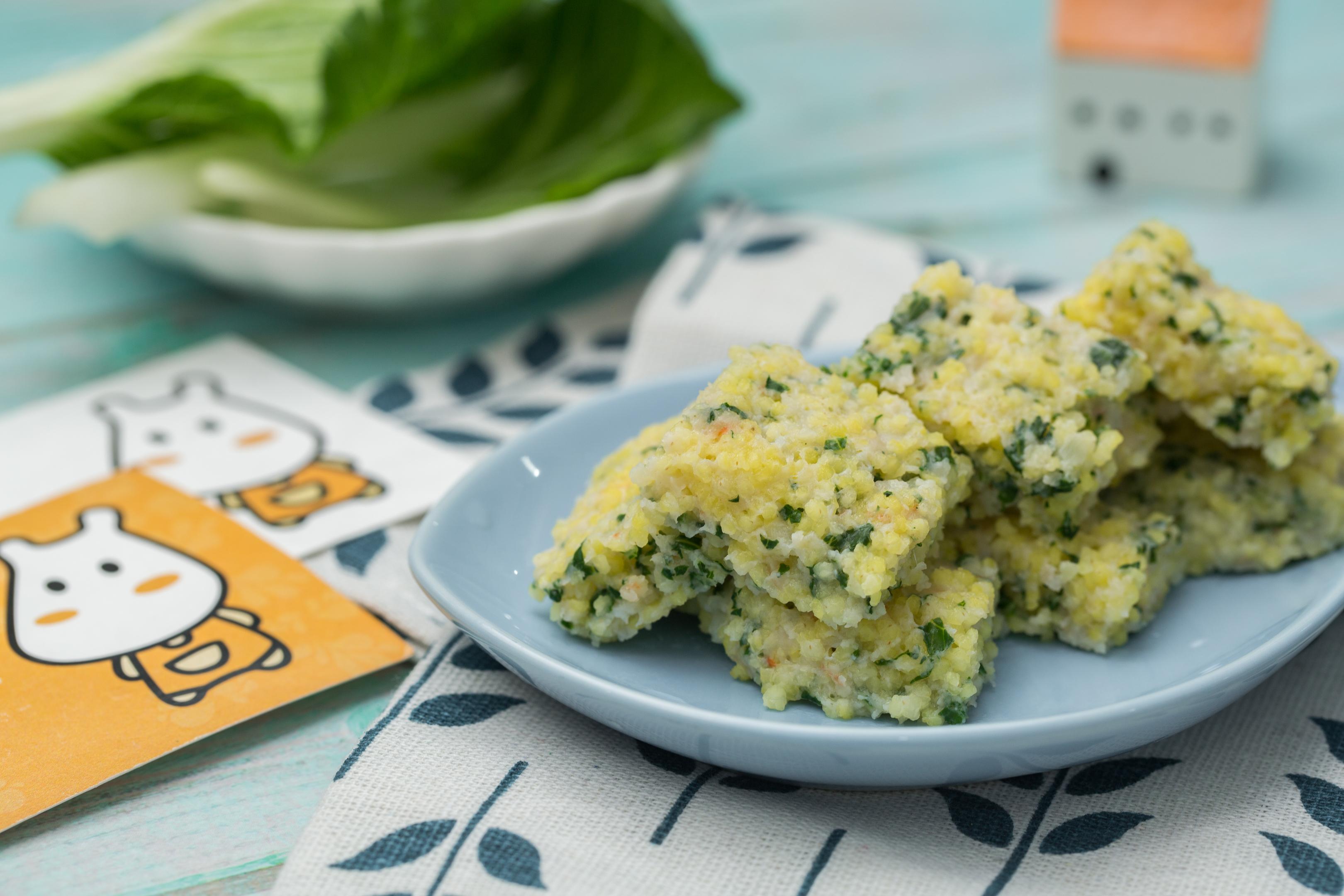 小米蔬菜饼