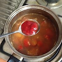 饱腹又美味的减肥汤-蕃茄豆腐汤的做法图解3