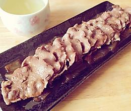 日式浇汁牛舌的做法