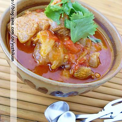 西紅柿燉牛肉
