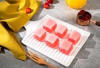 蜜桃双色果冻布丁的做法