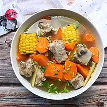#花10分钟,做一道菜!#玉米排骨汤