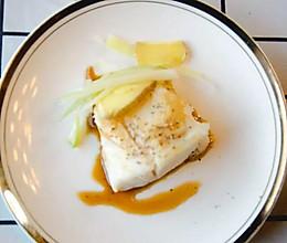 清蒸大西洋鳕鱼「小鹿优鲜」宝宝辅食的做法