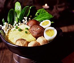 锅里的春天#冬天就要吃火锅#的做法