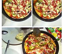 足料Pizza的做法