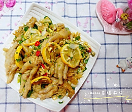 #美食视频挑战赛# 酸辣柠檬鸡爪的做法