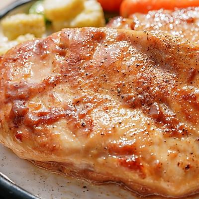 日食记   嫩煎鸡胸肉