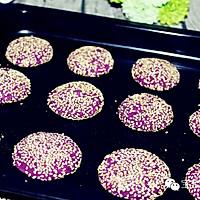 紫薯芝麻小饼 | 软糯清甜,无论大人还是孩子都适合!的做法图解11
