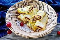 十分钟快手早餐——鸡蛋饼#一机多能,一席饪选#的做法