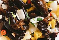 香菜泡椒黑木耳的做法