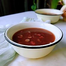 #秋天怎么吃#花生米红豆粥