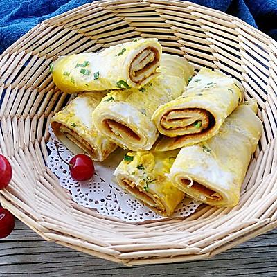 十分钟快手早餐——鸡蛋饼