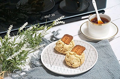新式英式下午茶——焦糖海盐饼干司康