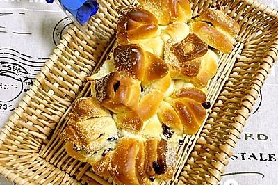 蔓越莓椰蓉手撕面包