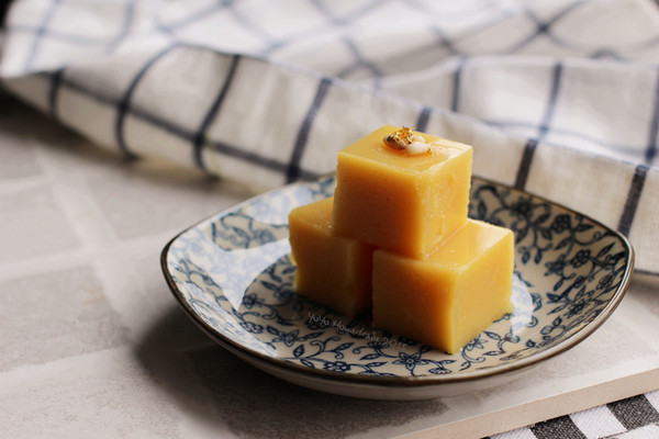 老北京的小小吃--豌豆黄儿的做法
