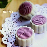 【紫薯冰皮月饼】的做法图解13