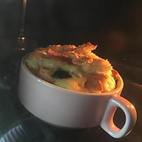 快手早餐~蛋奶吐司布丁的做法图解4