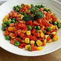 五彩蔬菜#黑人牙膏一招制胜#的做法图解4