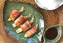 #换着花样吃早餐#培根金针菇卷~的做法