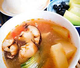 香菇冬瓜汤~番茄汤底!的做法