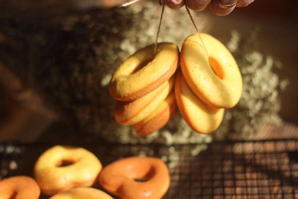 低糖低油橙香甜甜圈