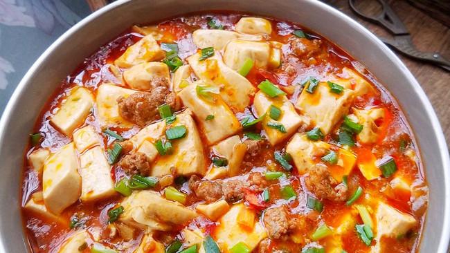 开胃又下饭的麻婆豆腐的做法