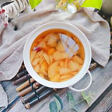 冬季润肺止咳的冰糖雪梨金桔汤