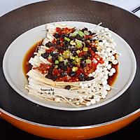 开胃下饭菜,剁椒金针菇的做法图解4