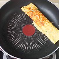鲜虾香肠厚蛋烧的做法图解9