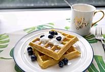 玉米蜂蜜华夫饼的做法