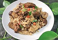 香菇板栗排骨焖饭的做法