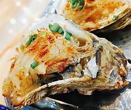 【小F私房】烤箱版烤生蚝的做法